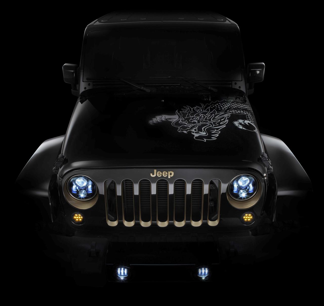 jeep wrangler with led headlights better automotive. Black Bedroom Furniture Sets. Home Design Ideas