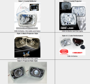 5x7 sealed beam headlights