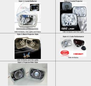 5x7 sealed beam headlights
