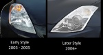 350z Headligth Comparison
