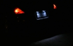 350z License Plate LED Bulbs