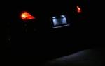 350z License Plate LED Bulbs