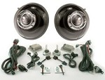 "Bi-Xenon 7"" Round Projector Headlights"