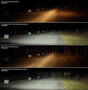 27270C LED Headlight Halogen