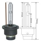 D2S bulb dimensions
