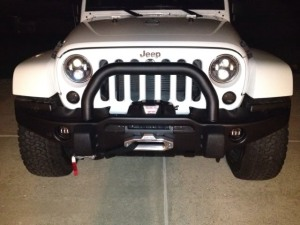"Jeep JK 4.5"" LED Driving Light"