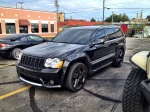 Jeep Grand Cherokee With Black Wheels