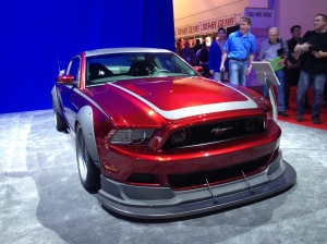 RTR Spec 3 Mustang build for SEMA