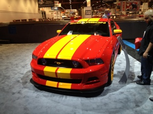 """3d Carbon """"Boy Racer"""" Ford Mustang Build for SEMA:"""