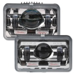 165mm rectangular LED Headlights