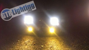 165mm LED Headlights, high/low beam