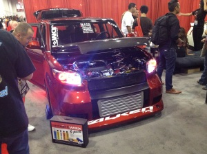 Scion XB LED Bulbs at SEMA from GTR Lighting