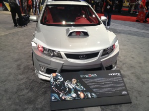 Kia Forte LED Bulbs at SEMA from GTR Lighting