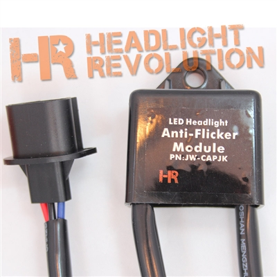 This is the only thing you need in order to install flicker-free 8700 LED headlights into your 2007-2014 Jeep JK.
