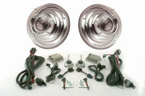 "7"" Round Projector headlights from Starr HID: Chrome Version"