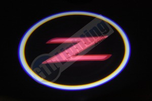 Nissan Z LED Logo Projector from GTR Lighting