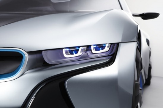 Prototype Laser Headlights from BMW