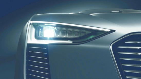 "Audi Matrix LED Headlights with ""Mid-Beam""."