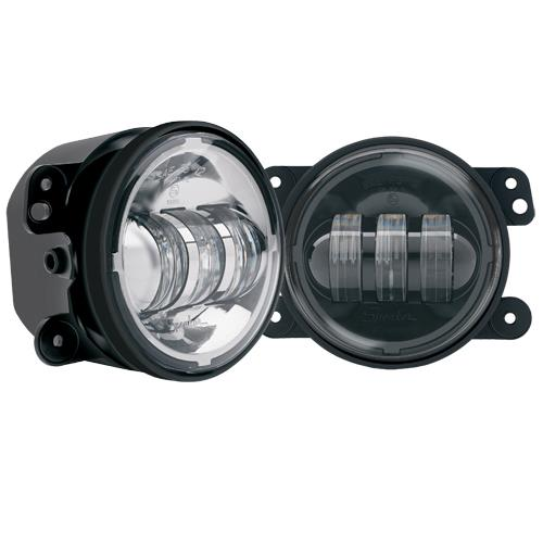 The new 1,100 Lumen Jeep-Specific LED fog light from JW Speaker, Model #6145.