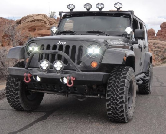 JW Speaker makes some of the world's best LED headlight and LED off-road products.