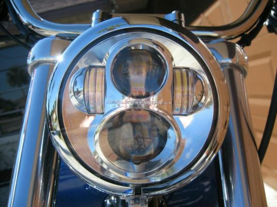 The Harley Davidson re-branded LED headlight.