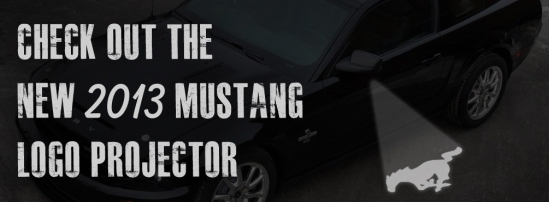 2013 Mustang LED Logo Projector