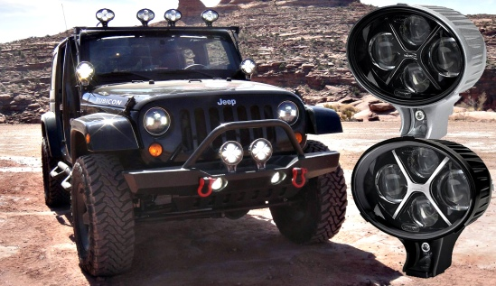 8 TS3000s mounted on 1 Jeep