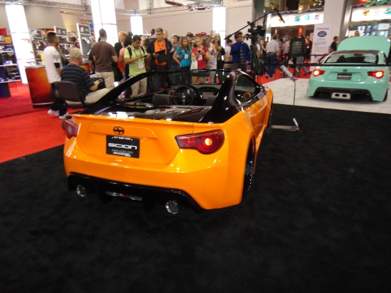 There were more Scion FRS and Subaru BRZ cars at SEMA than any other individual car model at the show!