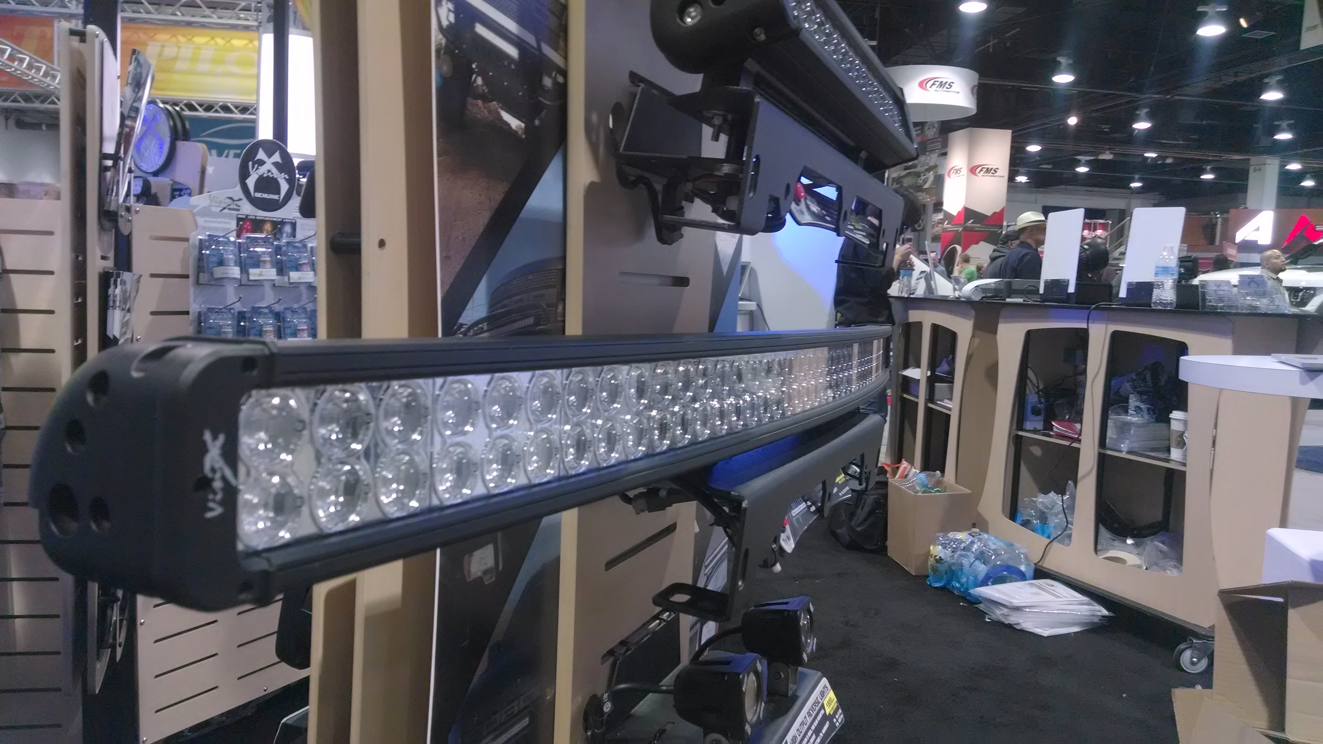 The next big thing curved led light bars better automotive the new xmitter prime xp led light bars from vision x will be available in 2014 mozeypictures Images