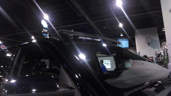 The new Putco LED light bars come with a curved option.