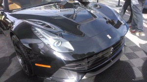 The Ferrari 458 has a similar style headlight to the new Stingray.