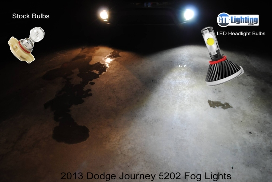LED Foglight Kit installed