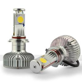 This LED headlight style with no reflector is an old model.