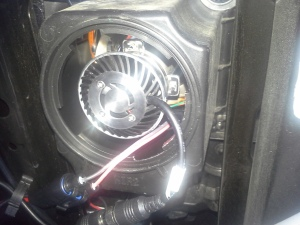 LED Conversion Kit installed in the 2014 GMC Sierra