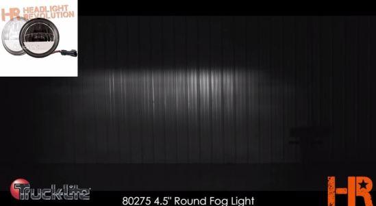 truck lite fog light beam pattern