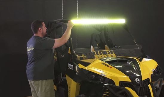 LED offroad Light Bar for the Can-Am