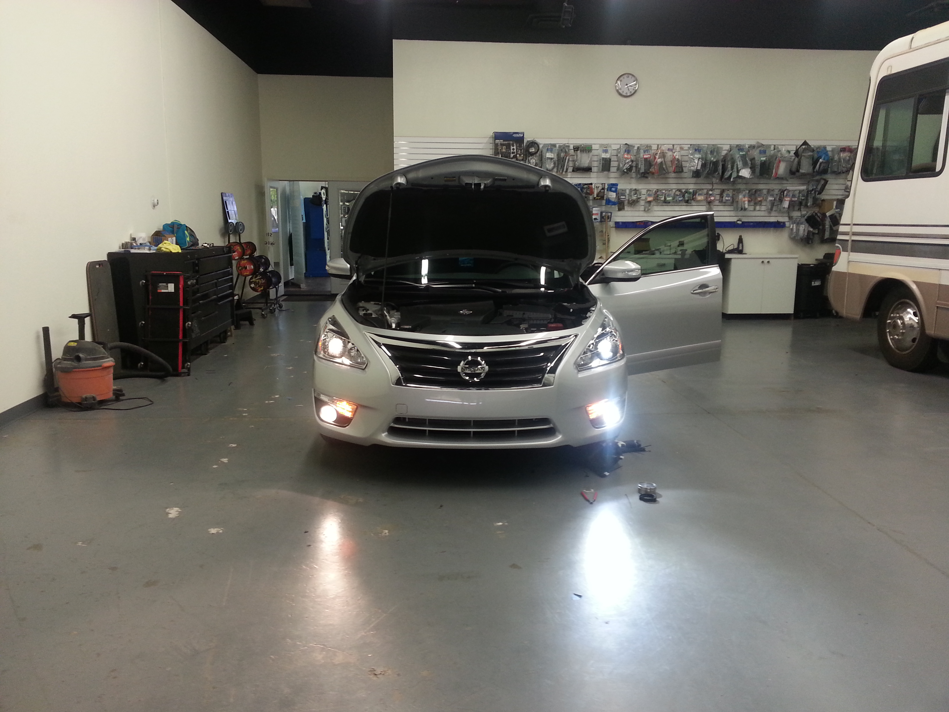 The H11 LED headlight conversion kit from GTR Lighting is plug and play on the new & SV | Better Automotive Lighting Blog azcodes.com