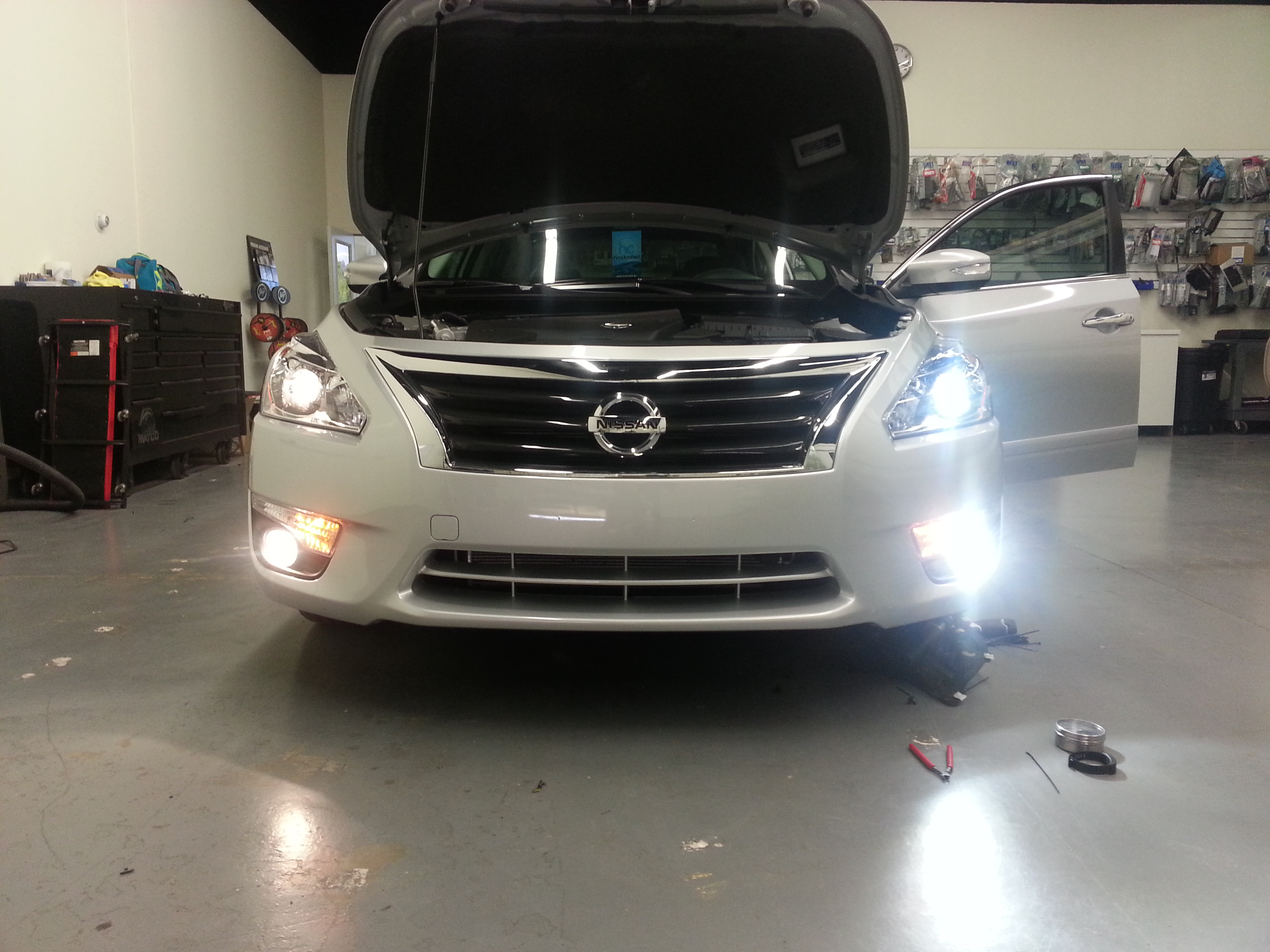 The H11 LED headlight conversion kit from GTR Lighting is plug and play on the new & SV | Better Automotive Lighting Blog