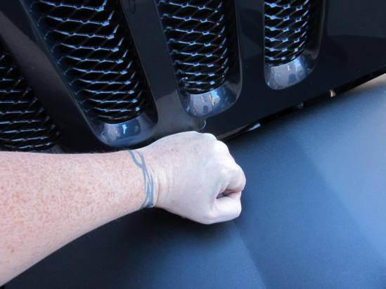 reinstalling jeep grille