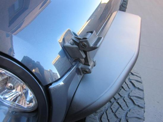 Jeep wrangler hood latch