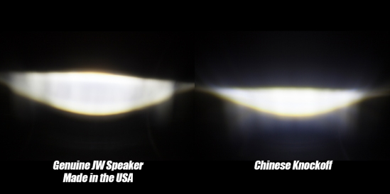 JW Speaker 6145 real and fake beam patterns