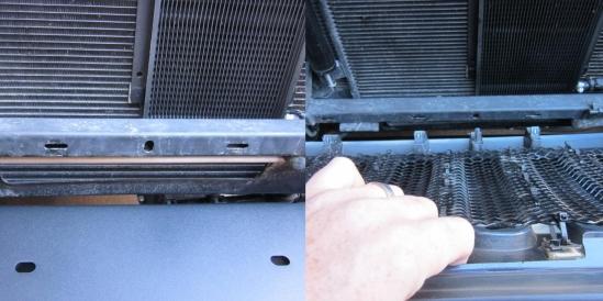 reinstalling jeep grille