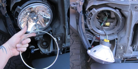 unscrewing jeep headlights 2