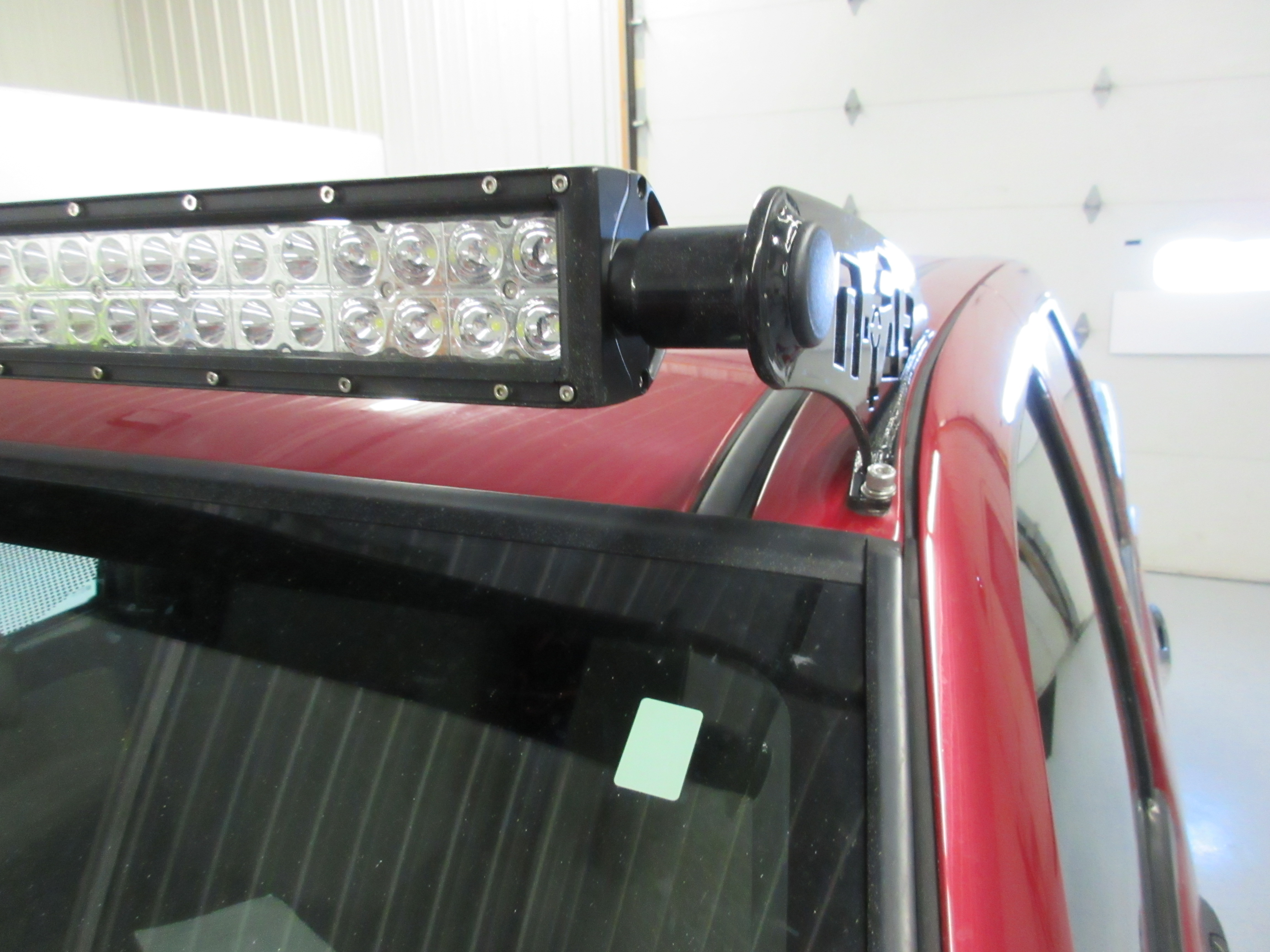 Gmc Canyon Roof Mounted Led Light Bar Better Automotive