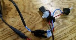 "Another option for an HID conversion kit ferrite coil is a larger version designed for the power wires to wrap around. The inside hole size is 0.57"" (over 1/2"", 14.5 mm) which is a loose fit for RG-8 type coaxial cable. This is a better method because the power wires go through the ferrite hole twice due to the loop around."