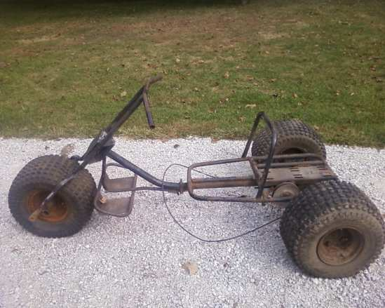 This is what most of these 3 wheeled death traps look like nowadays.