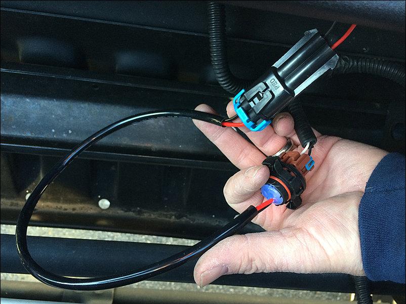 jeep wrangler jw speaker 8700 evo 2 and 6145 install, fog Relay Fog Lamps