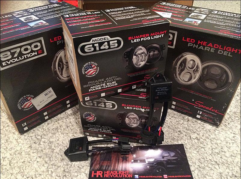jeep wrangler jw speaker 8700 evo 2 and 6145 install fog lights and headlights better. Black Bedroom Furniture Sets. Home Design Ideas