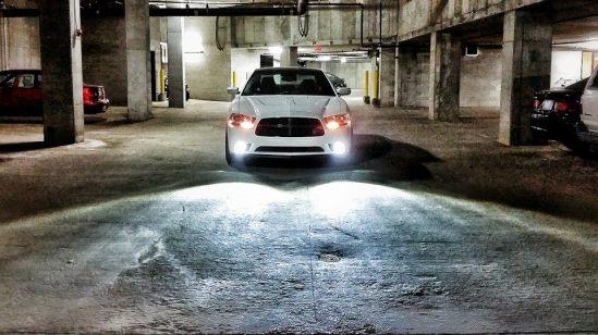 Installing LED Fog lights in Dodge charger 8