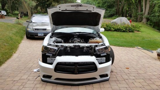 Installing LED Fog lights in Dodge charger